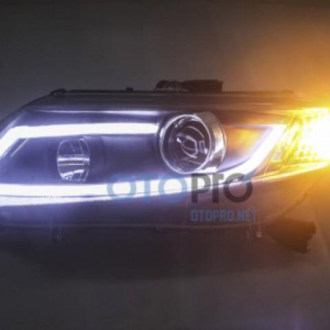 Đèn pha độ LED nguyên bộ cho xe Honda Civic 2013-2015