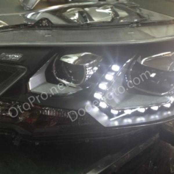 Đèn pha LED nguyên bộ cả vỏ cho CRV 2012 mẫu DC