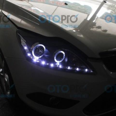 Đèn pha độ LED nguyên bộ cho xe Ford Focus 2009-2011 mẫu 2
