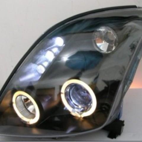 Đèn pha nguyên bộ cả vỏ Suzuki Swift mẫu 1