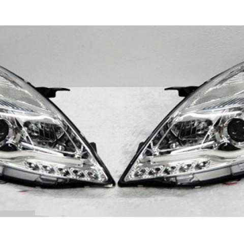 Đèn pha LED Suzuki Swift 2012 mẫu Sonar chóa trắng