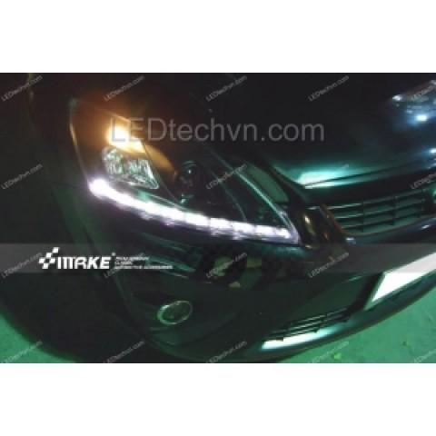 Đèn pha LED nguyên bộ cho xe Ford Focus 2009-2011 mẫu 1