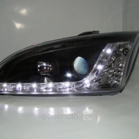 Đèn pha độ LED nguyên bộ cho xe Focus đời 2005-2008 mẫu 2
