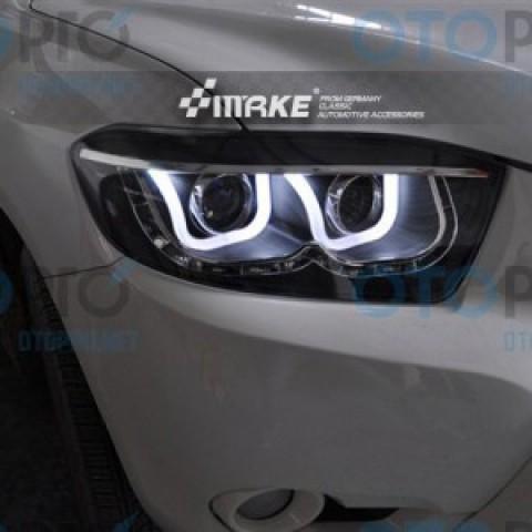 Đèn pha độ LED nguyên bộ cho xe Highlander 2008-2010
