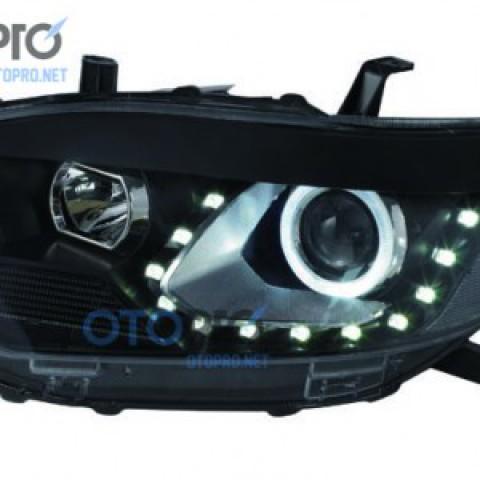 Đèn pha độ LED nguyên bộ xe Highlander 2008-2010 V3