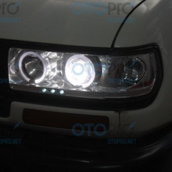 Đèn pha LED nguyên bộ cho xe Toyota Land Cruiser