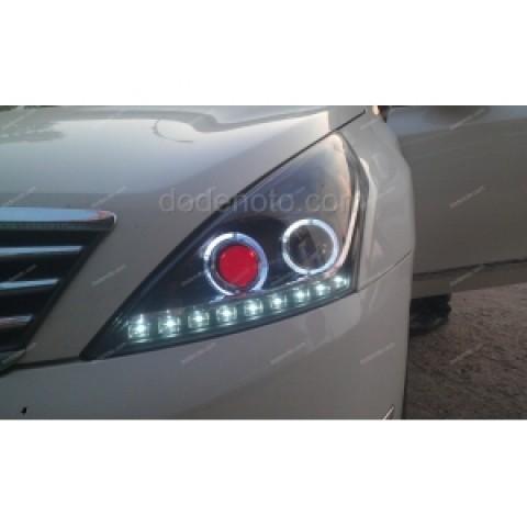 Đèn pha độ LED nguyên bộ cho Teana đời 08-12 mẫu 3