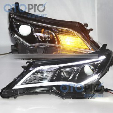 Đèn pha độ LED nguyên bộ cho xe RAV4 2014 mẫu 2