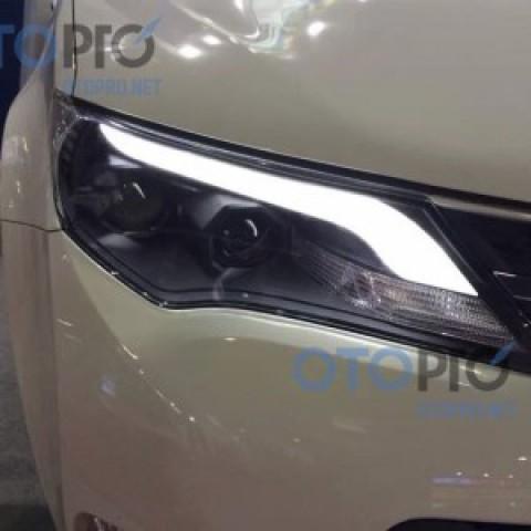 Đèn pha độ LED nguyên bộ xe Toyota RAV4 2014 mẫu 3