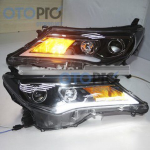 Đèn pha độ LED nguyên bộ xe RAV4 2014 mẫu LD