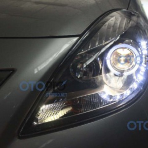 Đèn pha độ LED nguyên bộ cho xe Nissan Sunny
