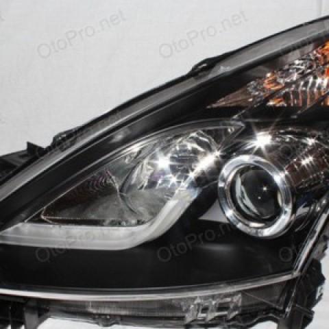 Đèn pha độ LED nguyên bộ cho xe Teana đời 08-12 mẫu 1