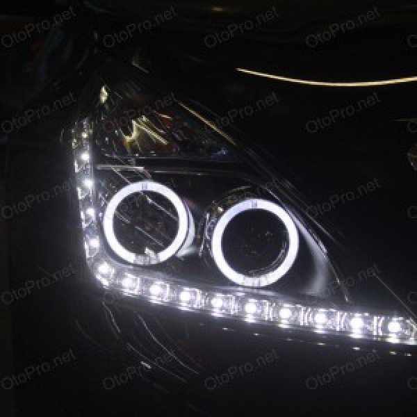 Đèn pha độ LED nguyên bộ cho Teana đời 08-12 mẫu 4