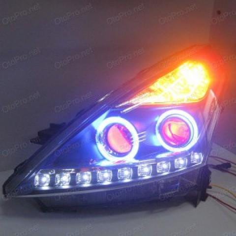 Đèn pha độ LED nguyên bộ cho Teana đời 08-12 mẫu 5
