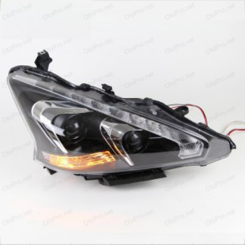 Đèn pha độ LED nguyên bộ cho Nissan Teana đời 08-12 mẫu 6