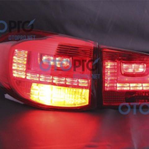 Đèn hậu độ LED nguyên bộ Volkswagen Tiguan mẫu 1