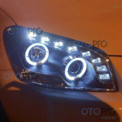Đèn pha độ LED nguyên bộ cho xe Toyota RAV4 mẫu 1