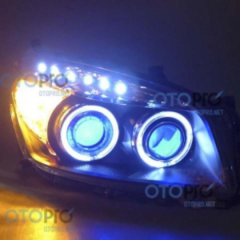 Đèn pha độ LED nguyên bộ cho xe Toyota Rav 4 mẫu 2