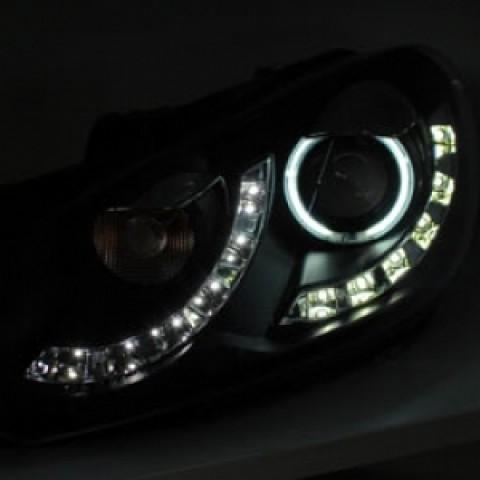 Đèn pha LED nguyên bộ cả vỏ cho xe Volkswagen Golf VI