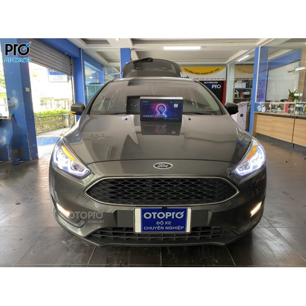Ford Focus độ bi led Domax Omega Laser