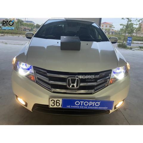 Honda City 2014 độ bi LED Domax X-LED Pro