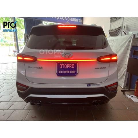 Hyundai Santafe 2020 lắp dải LED cốp