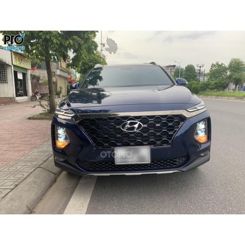 Hyundai Santafe 2021 độ Bi Domax X-LED Pro & VN Light V20L