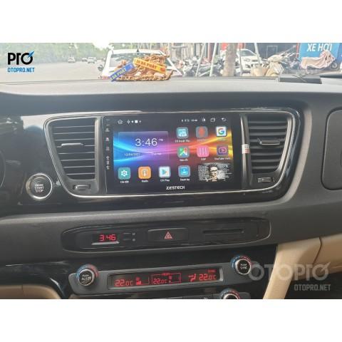 Kia Sedona 2016 lắp đặt màn hình android Zestech Z800pro+