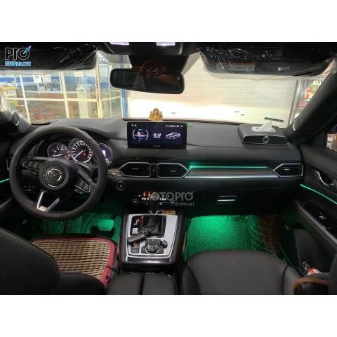 Mazda CX-8 độ led viền nội thất