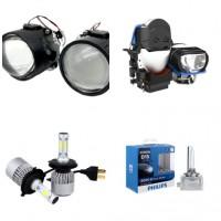 Độ Đèn Bi Xenon, Bi LED, Laser, LED mí, Vòng Angel Eye Trang Trí