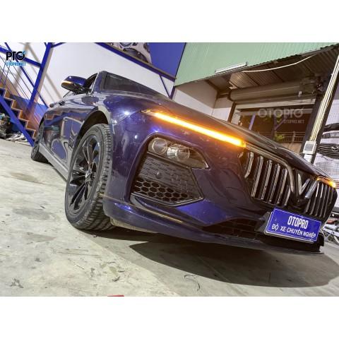 Vinfast Lux A nâng cấp Bi Laser Jagua,  Bi Laser X-Light V20L