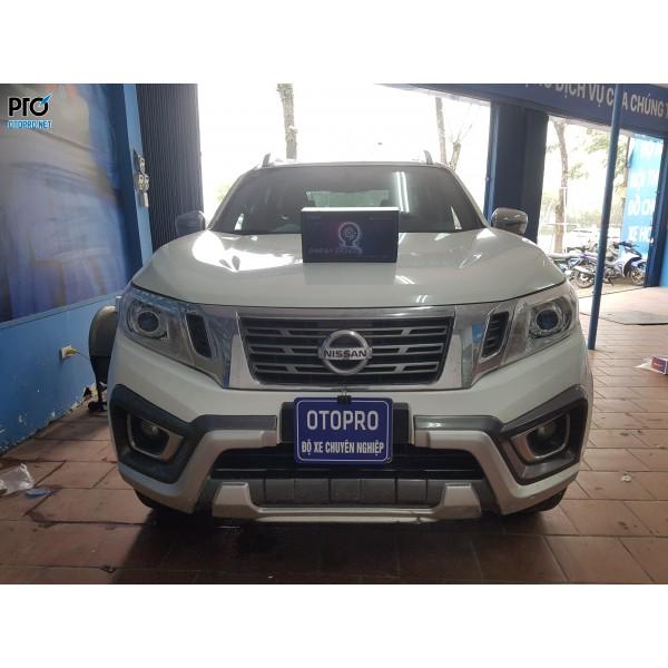 Nissan Navara lên Bi pha Omega Domax Laser