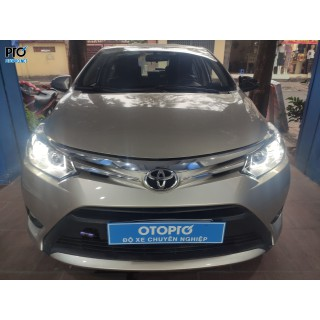 Toyota Vios 2017 lên Bộ led chữ U