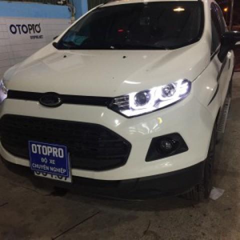 Ford Ecosport Lắp Đèn Pha Nguyên Bộ Mẫu Bmw