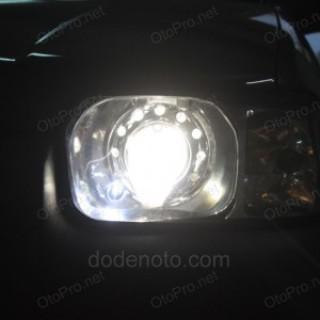 Độ đèn bi xenon Audi Q5 cho xe Ford Escape XLT