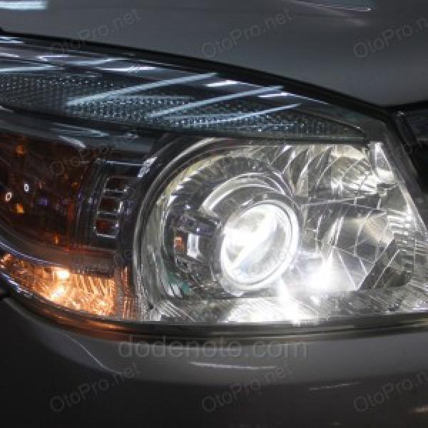 Độ đèn bi Xenon, Projector cho xe Ford Everest