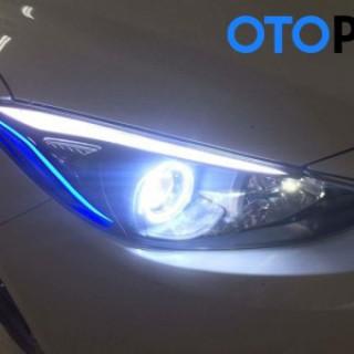 Angel eyes mẫu N-BMW 95 mm (2 màu) cho xe Ford Fiesta