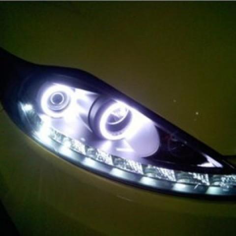 Đèn pha độ LED nguyên bộ cho Ford Fiesta 09-11