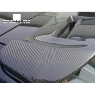 Đuôi gió Carbon nóc kính hậu cho xe Focus Hatchback 2009 mẫu JE