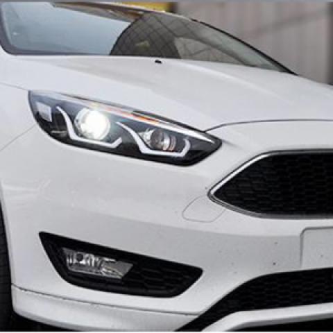 Đèn pha độ LED nguyên bộ cho xe Focus 2016-2017 mẫu LD