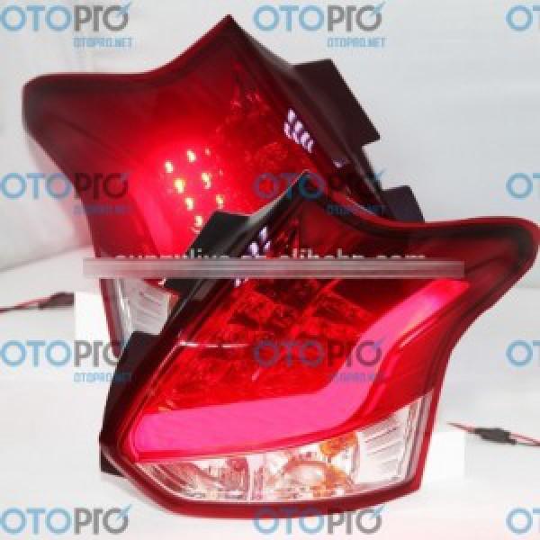 Đèn hậu độ LED Ford Focus Hatchback 2012-2014 mẫu JY màu đỏ