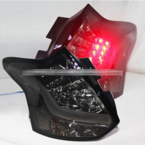 Đèn hậu độ LED Ford Focus Hatchback 2012-2014 mẫu JY màu khói
