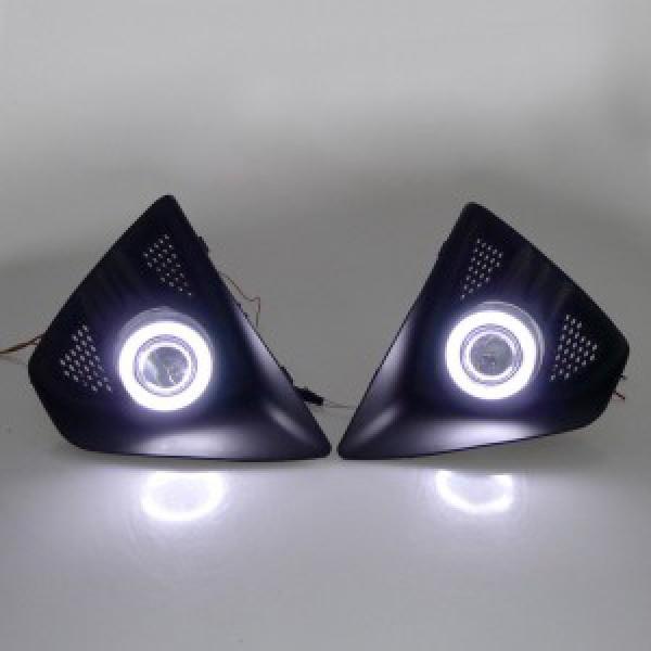 Độ bi xenon, angel eyes đèn gầm Focus hatchback