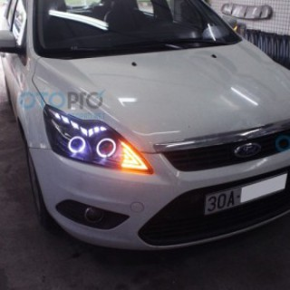 Đèn pha độ LED nguyên bộ cho xe Ford Focus 2010