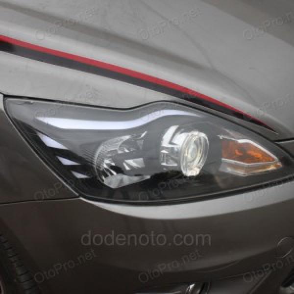 Độ đèn bi xenon, angel eyes BMW, LED mí khối cho Ford Focus