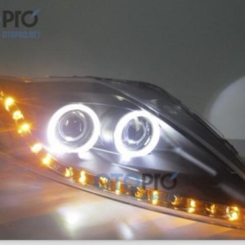 Đèn pha độ LED nguyên bộ xe Mondeo 2009-2012 mẫu 2 bi
