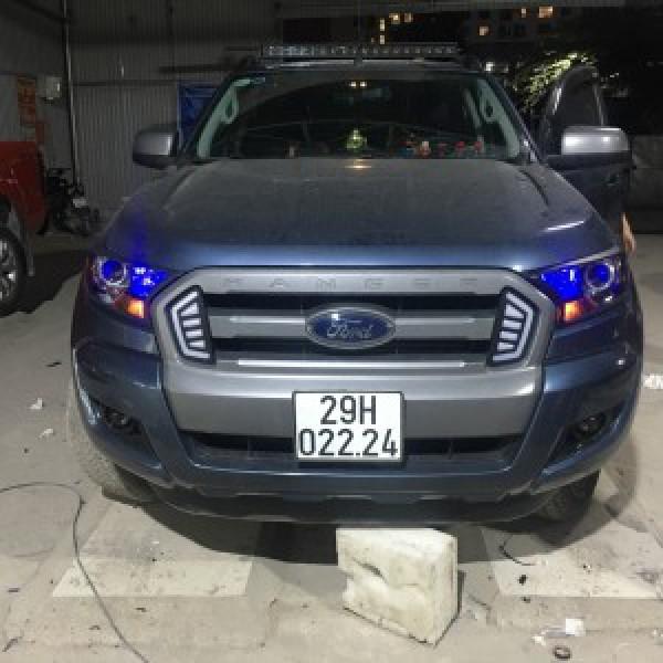 Ford ranger 2015 lắp đèn nguyên bộ
