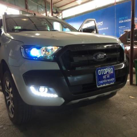 Ford Ranger  2016 độ LED gầm, bi gầm