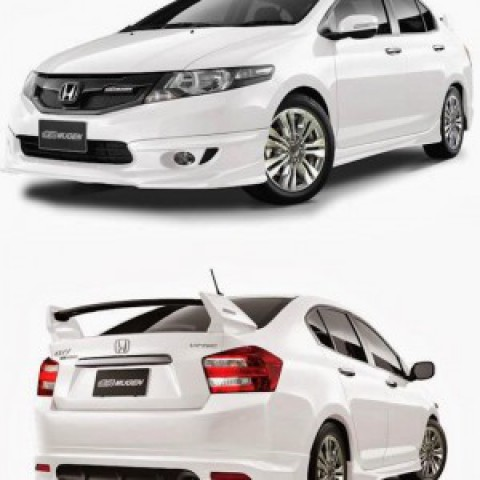 Body lip cho Honda City mẫu Mugen