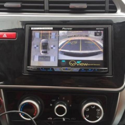 Camera 360 cho xe Honda City